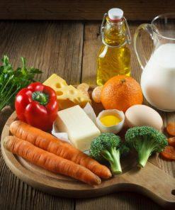 Vitamins A D E & Beta Carotene