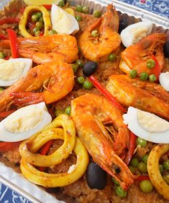 Seafood Entrées
